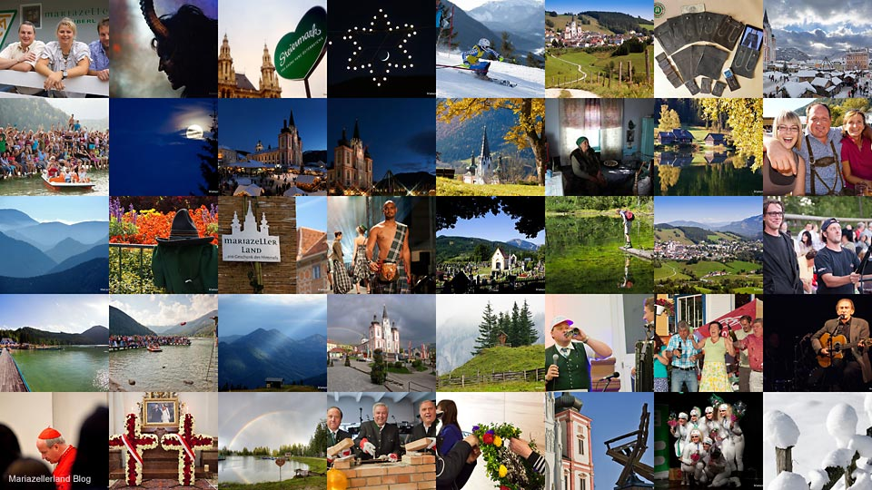 Lieblingsfotos 2011 der Mariazellerland Blog Leser beim Gewinnspiel