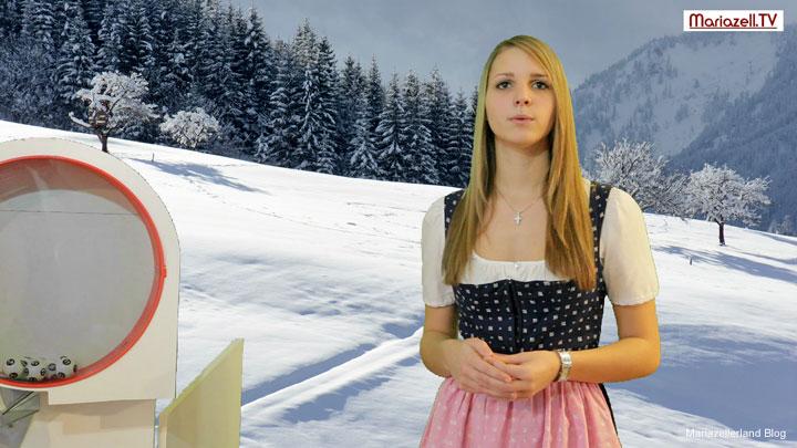 Parkscheinverlosung Moderatorin Elisabeth