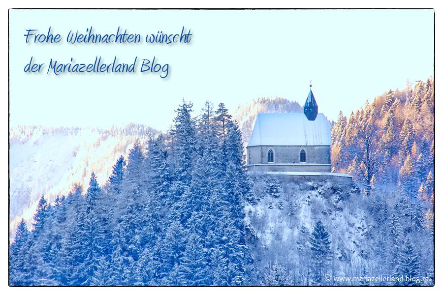 Frohe Weihnachten wünscht der Mariazellerland Blog