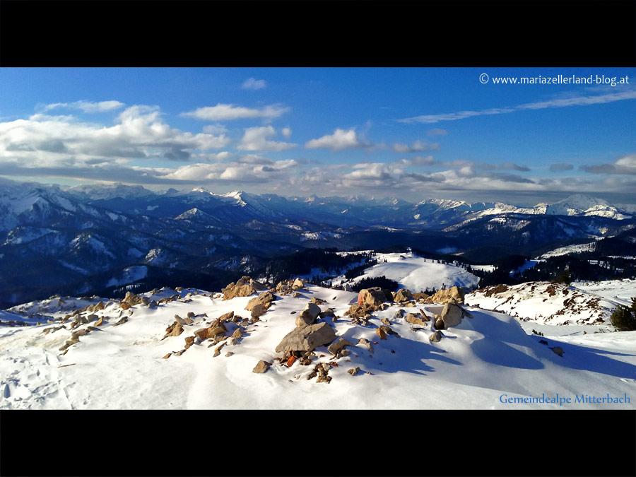 Gemeindealpe Mitterbach - Fotos vom 30.12.2012