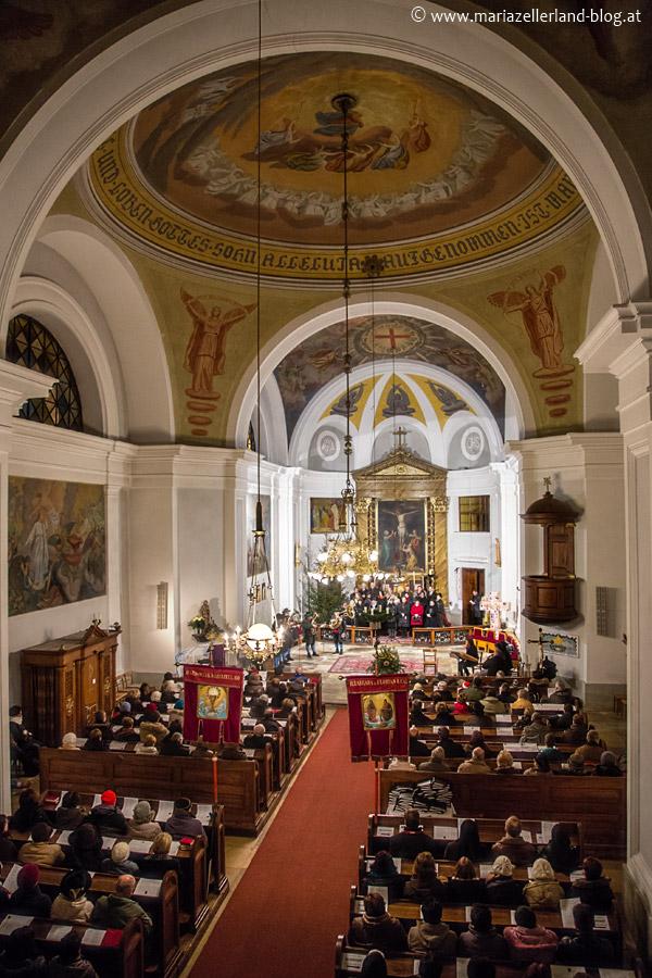 Pfarrkirche Gußwerk - Adventkonzert der Liedertafel Gußwerk