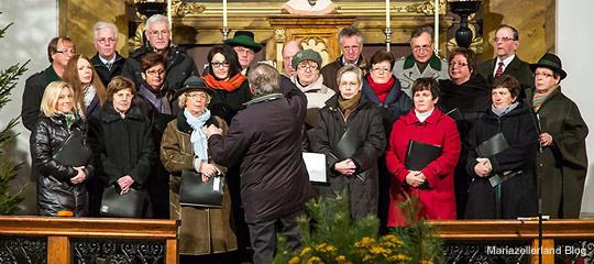 Liedertafel Gußwerk beim Adventkonzert 2012