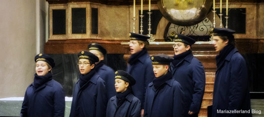 Wiener Sängerknaben in der Mariazeller Basilika