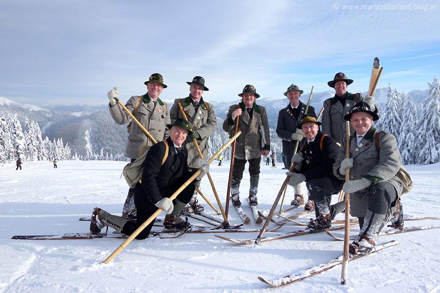 Nostalgie-Skigruppe-Traisen auf der Mariazeller Bürgeralpe