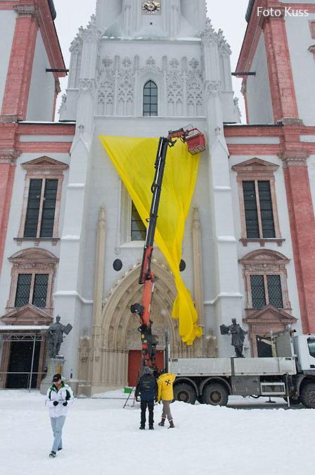 Basilika-Mariazell-Verhüllung-3
