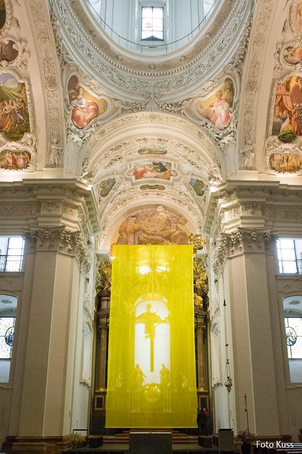 Basilika-Mariazell-Verhüllung