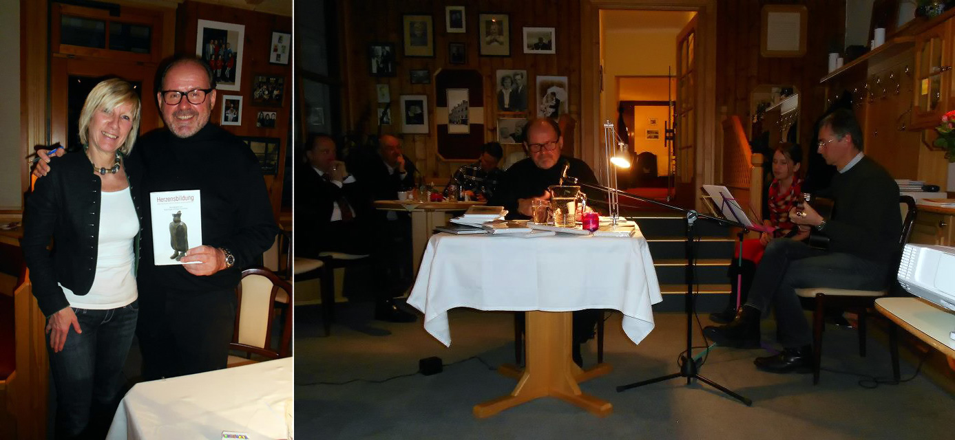 Eva Ploderer-Kerschbaumer mit August Schmölzer- Bild 2: August Schmölzer, Brandl Ferdinand und Katharina - Elternschule Mariazell