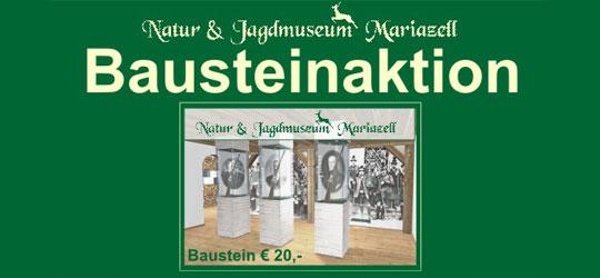 Bausteinaktion-Jagdmuseum Mariazell