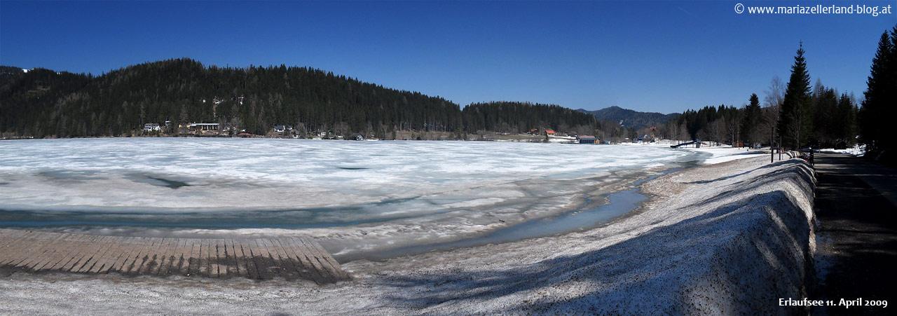 Erlaufsee - 11. April 2009