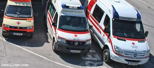 Notarztwagen Mariazell - Foto: Günter Leser