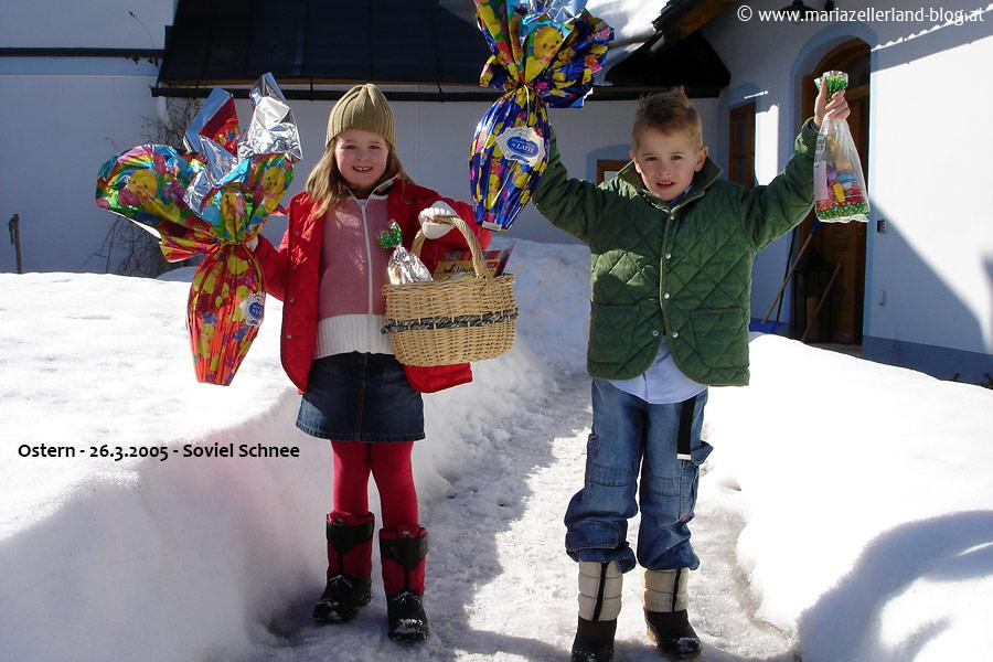 Ostern in Mariazell - 26. März 2005