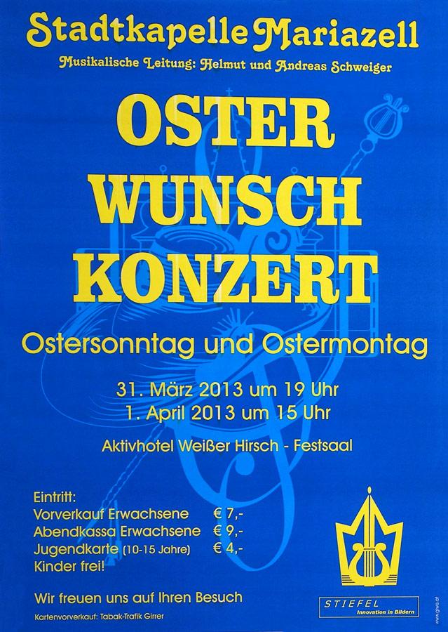 Osterwunschkonzert-Mariazell