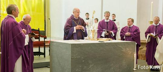 Dankgottesdienst für Papst Benedikt in der Basilika Mariazell mit Diözesanbischof Dr. Egon Kapellari