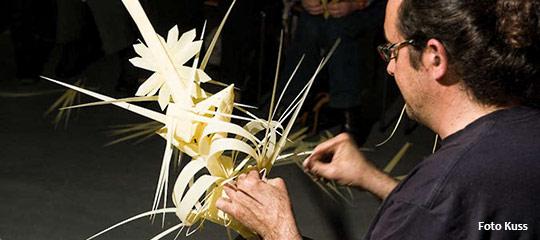 Palmbinden Workshop in Mariazell