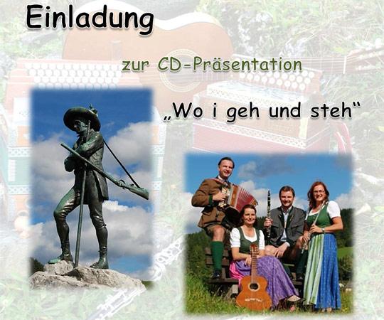 EINLADUNG - Mariazeller Landmusik - CD Präsentation