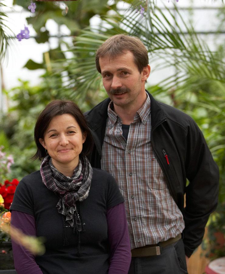 Die Blumenprofis - Ute und Peter Fresner