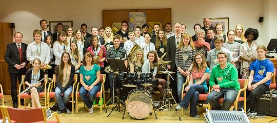 Big Band Musikberufsfachschule Altötting und Kiddyband Musikschule Mariazell