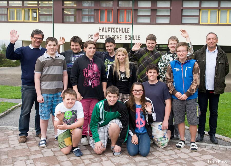 Die Schüler für das Poly-Schuljahr 2013-2014 freuen sich ihr Pflichtschuljahr in Mariazell besuchen zu können.