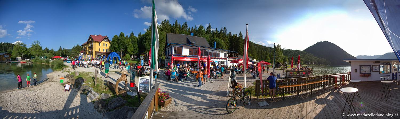 Erlaufsee-Panorama-Bootssteg