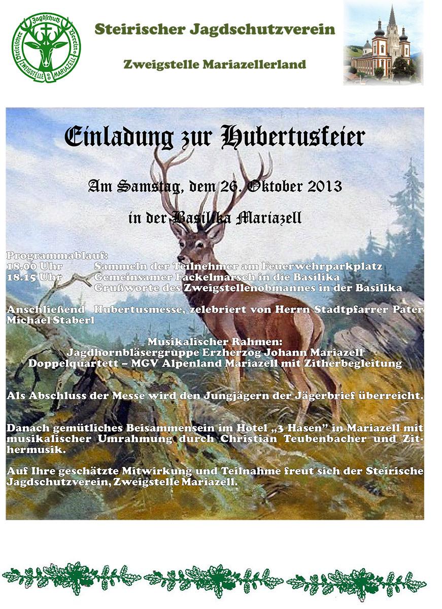 Einladung-Hubertusfeier