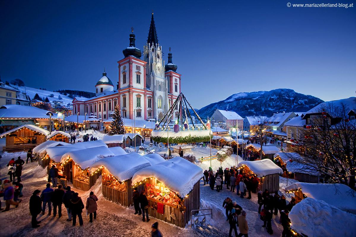 Mariazell-Advent-Blaue-Stunde-