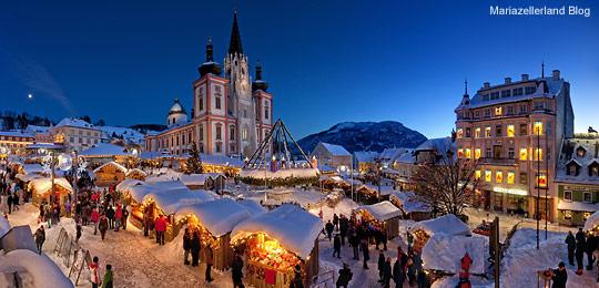 Mariazell-Advent-Panorama-Blaue-Stunde