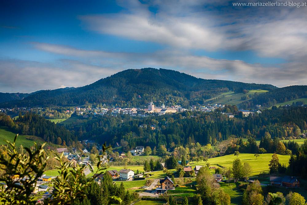 Sigmundsberg Ausblick nach Mariazell