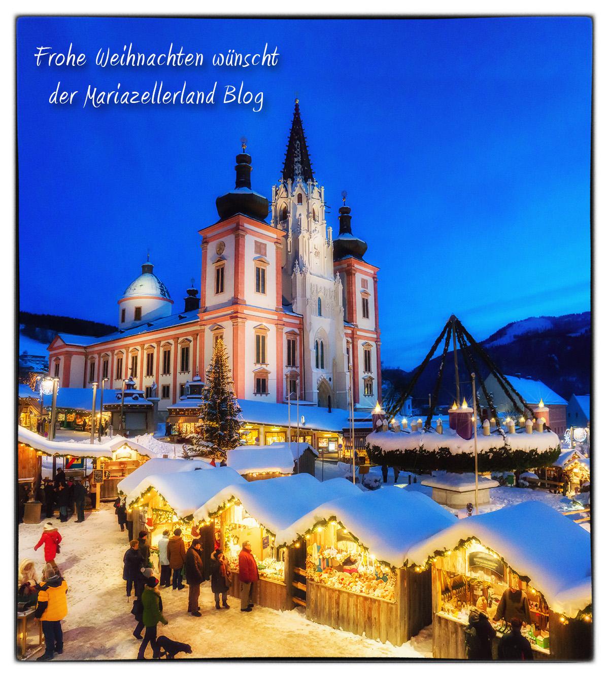 Wir wünschen allen Mariazellerland Blog Lesern Frohe Weihnachten 2013