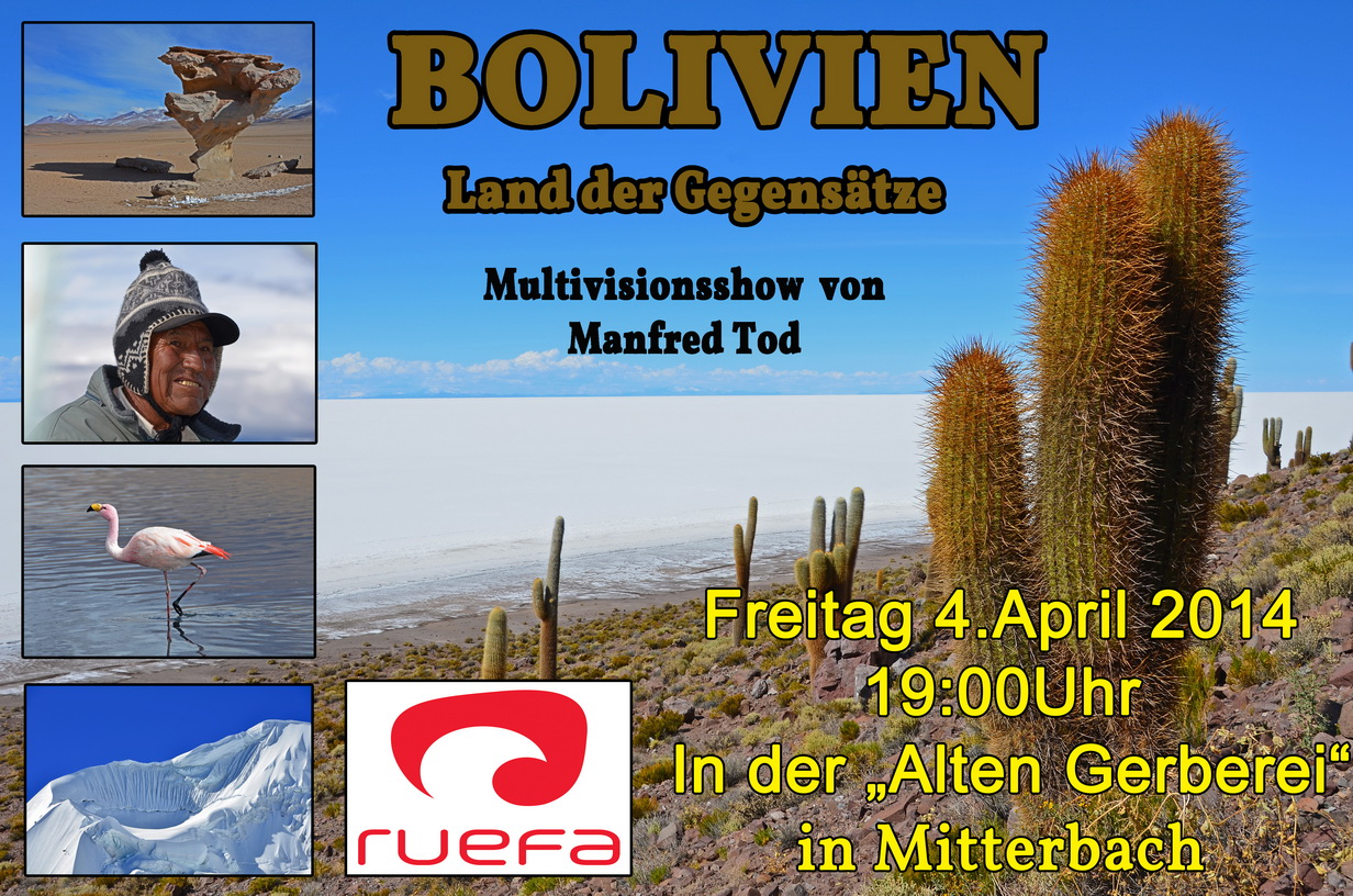 Boliven-Land der Gegensaetze- Manfred Tod