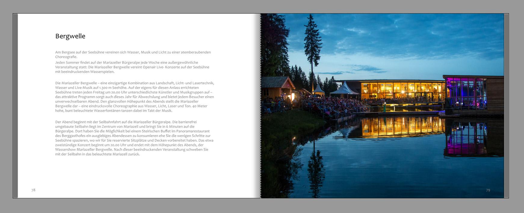 Mariazellerland-Fotobuch-Bergwelle