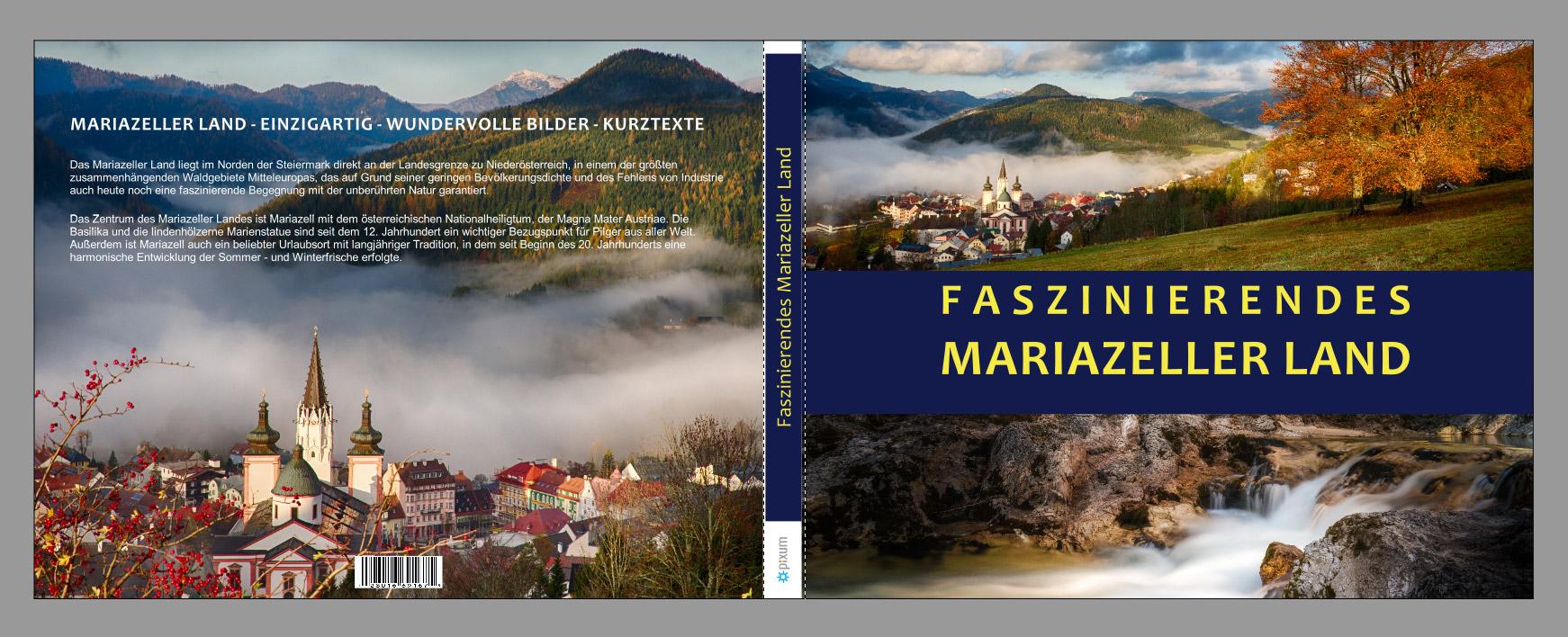Mariazellerland-Fotobuch-Umschlag