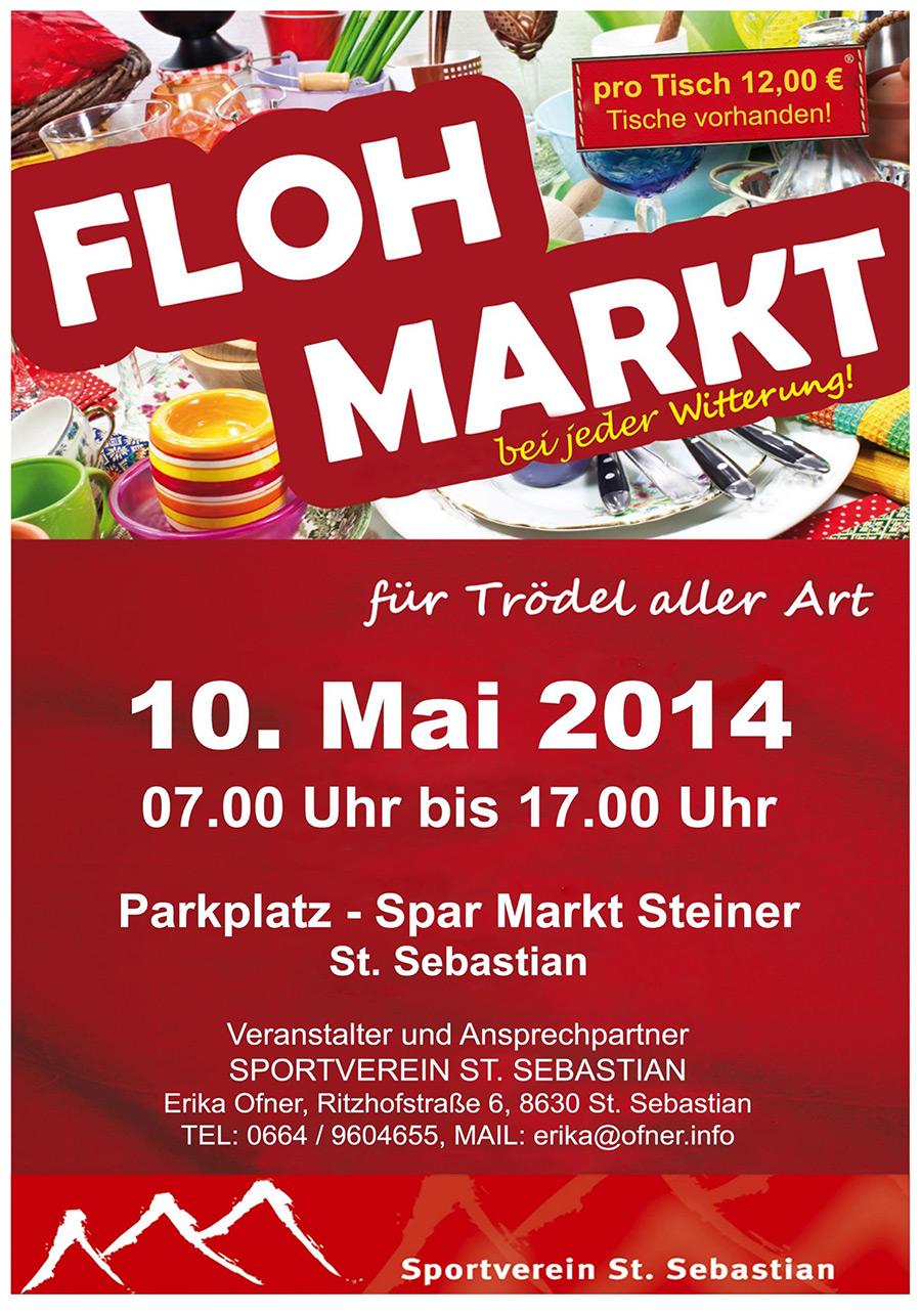 Flohmarkt St. Sebastian 2014
