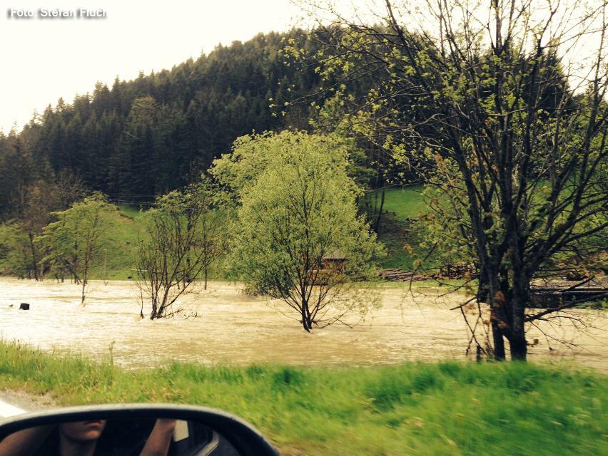Hochwasser-Mariazellerland-Mai-2014. Foto: Stefan Fluch