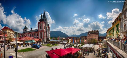 Mariazell-Hauptplatz-1Mai2014