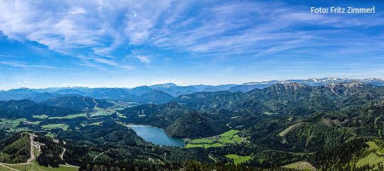 Panoramablick-Terzerhaus