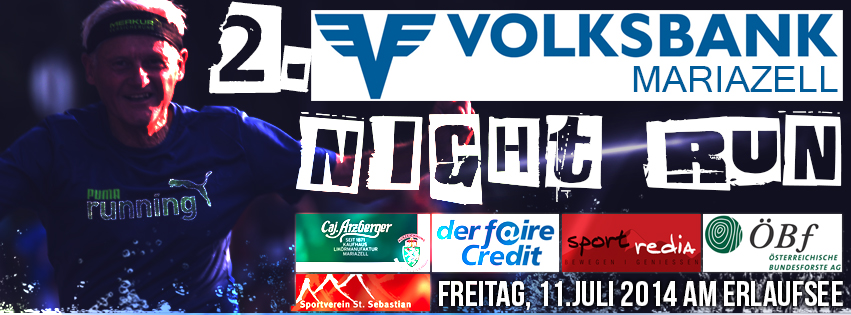Night Run am Erlaufsee 2014