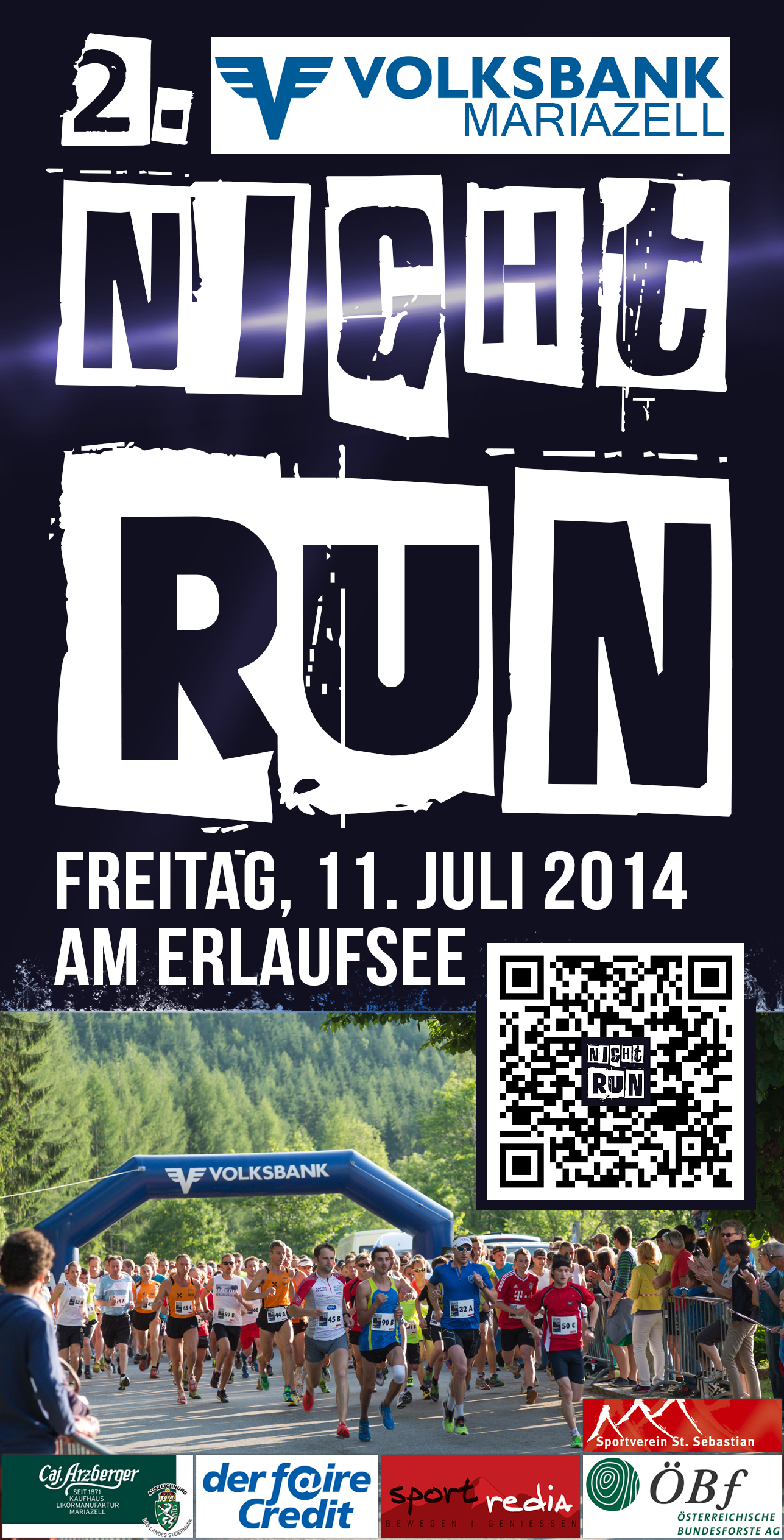 Night Run Erlaufsee 2014