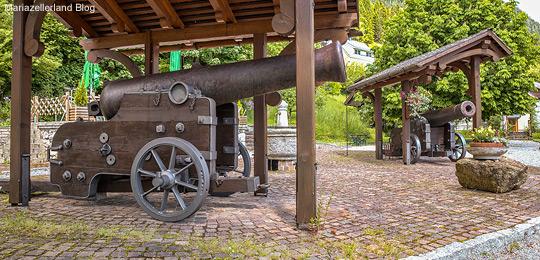 Kanonenpark-Gusswerk-Titel