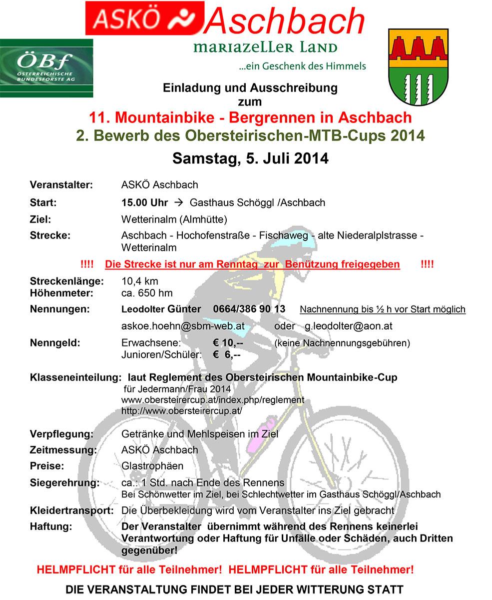 MTB Rennen 2014_