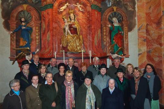Mariazellerlandchor-Maiandacht-Hl.Brunn-Kapelle