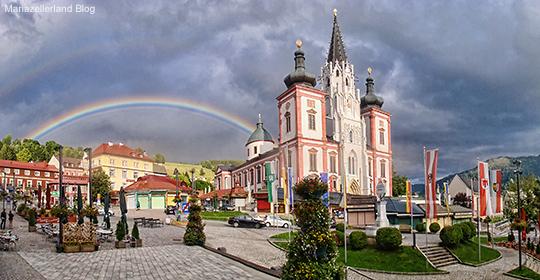 Basilika-Regenbogen