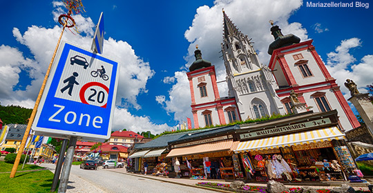 Begegnungszone Mariazeller Hauptplatz