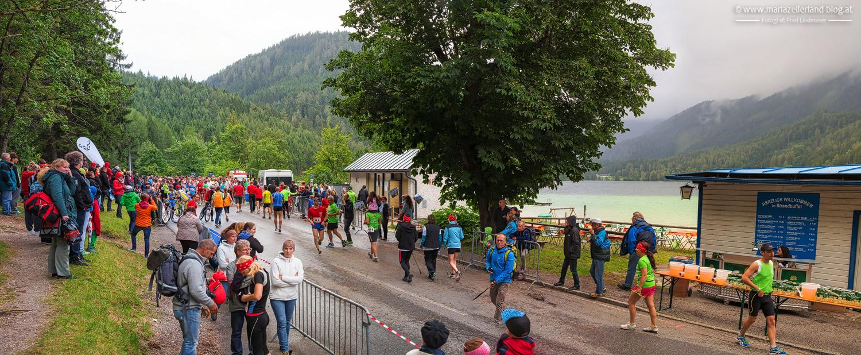 Night Run 2014 beim Erlaufsee - Startgelände