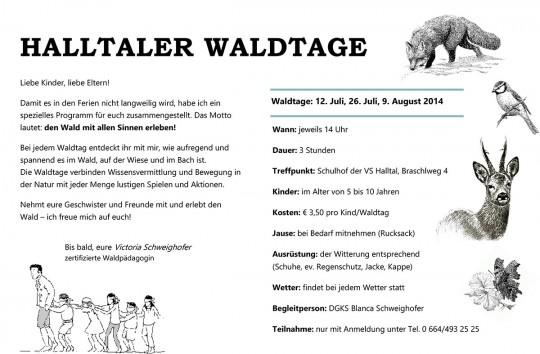 Halltaler-Waldtage