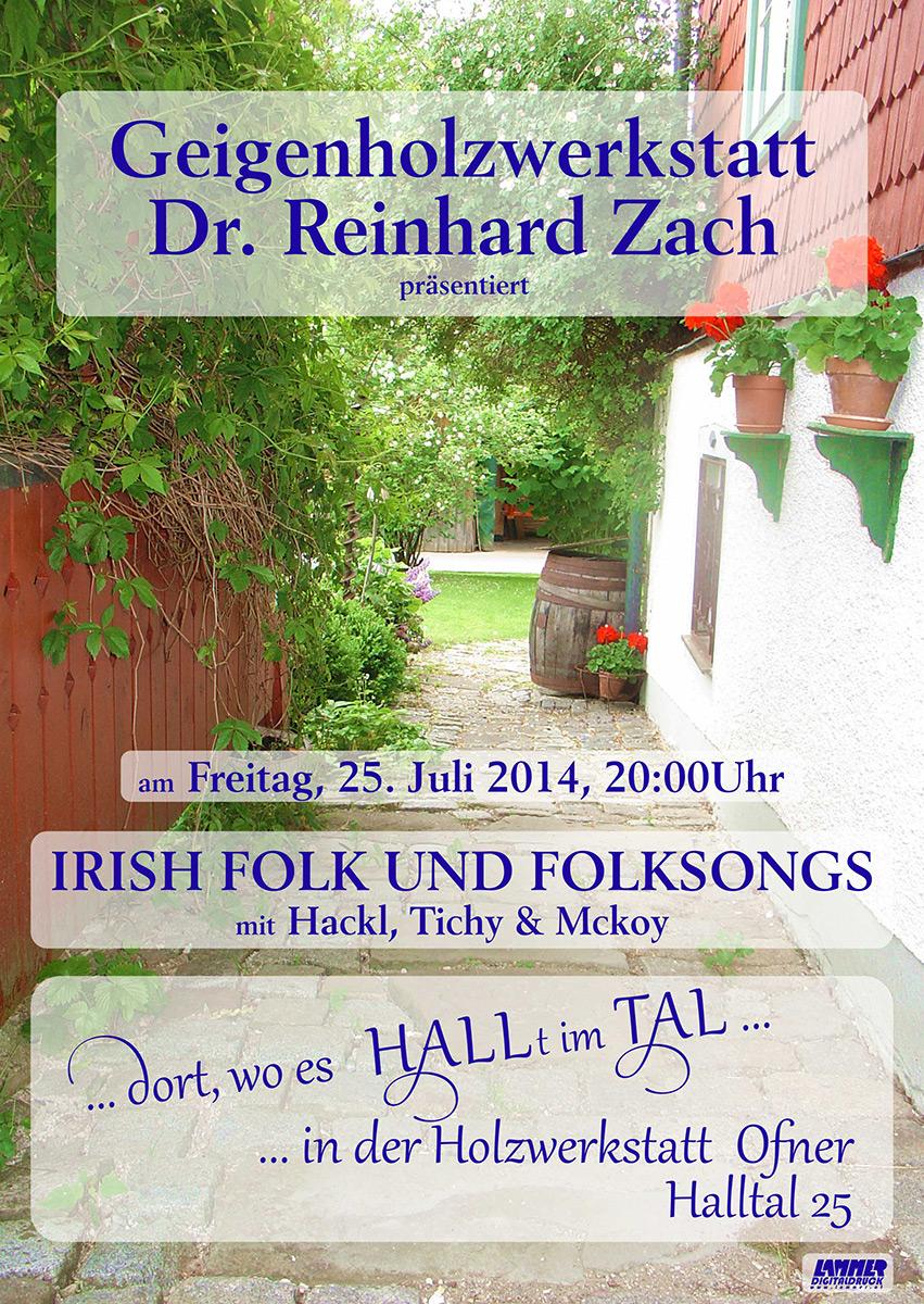 Irishfolk-Halltal-Geigenholzwerkstatt