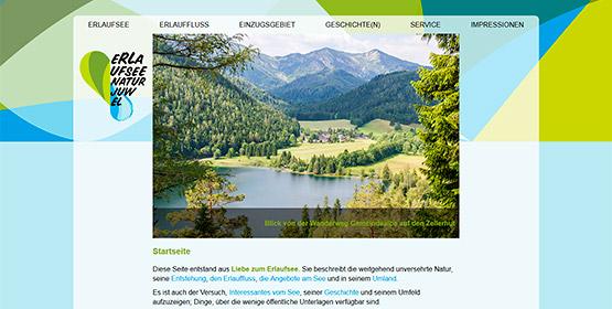 Erlaufsee-Website