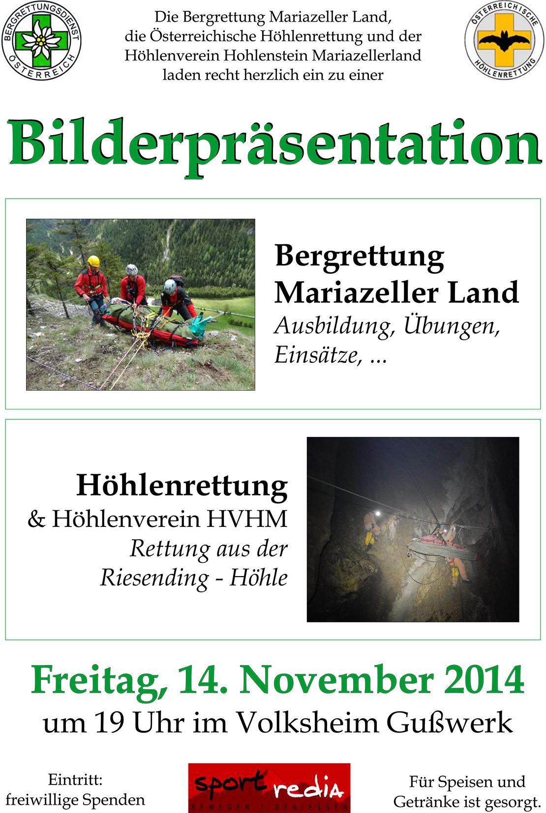 bergrettung-hoehlenrettung-Bilderpräsentation-Mariazellerland