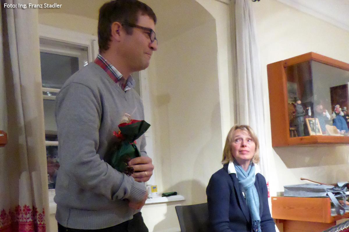 Andreas Schweighofer bedankt sich bei den Vortragenden