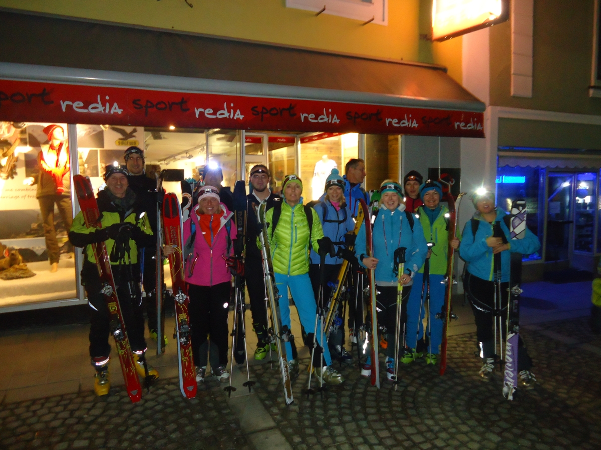 Nachtspektakel Sportredia