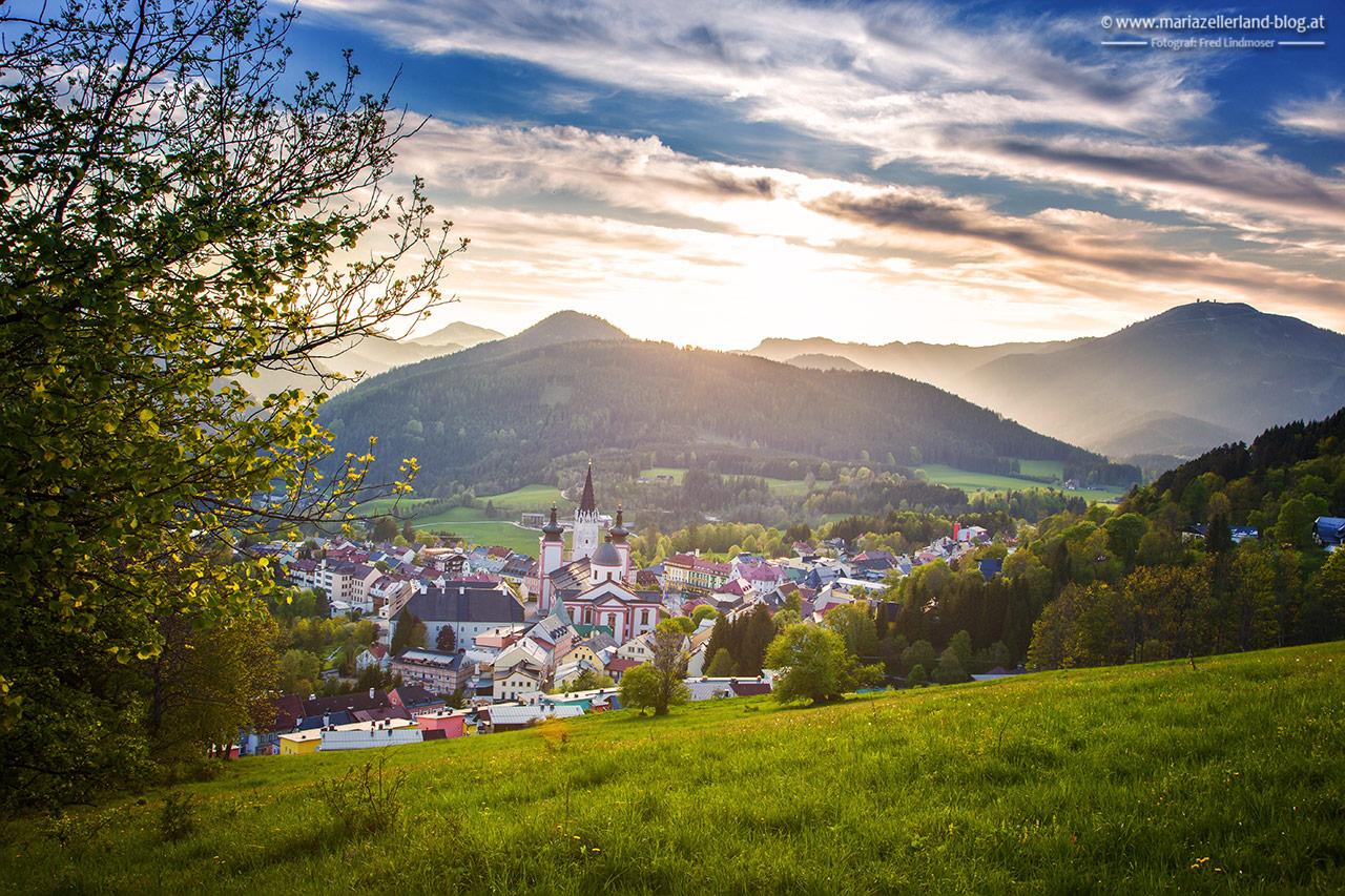 Mariazell-Basilika-Fruehling